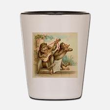 Vintage Monkeys Shot Glass