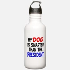Dog Smarter Than-2 Water Bottle