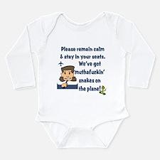 Stewardess S.O.A.P. Long Sleeve Infant Bodysuit
