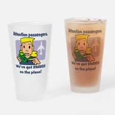 Attention Passengers PG Drinking Glass