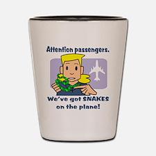 Attention Passengers PG Shot Glass