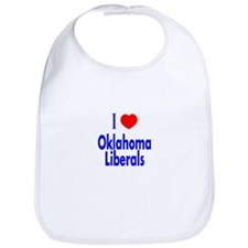 I Love Oklahoma Liberals Bib