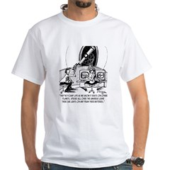 Dead Batteries In Space Shirt
