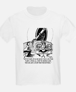 Dead Batteries In Space T-Shirt