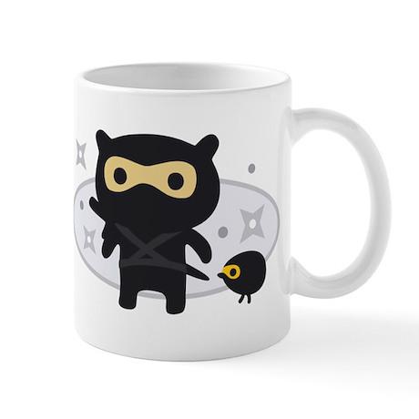 Cute Friends in Ninja Costume Mug
