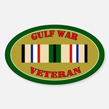Gulf War Sticker (Oval)