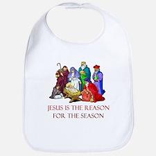 Christmas Jesus is the reason for the season Bib