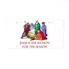 Christmas Jesus is the reason for the season Alumi