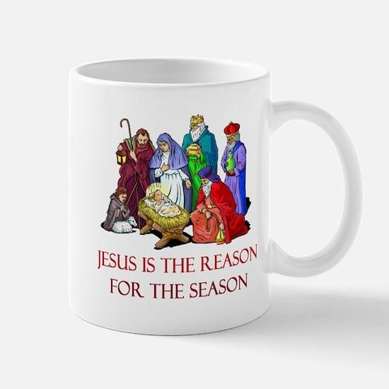 Christmas Jesus is the reason for the season Mug