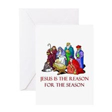 Christmas Jesus is the reason for the season Greet