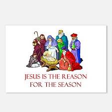 Christmas Jesus is the reason for the season Postc
