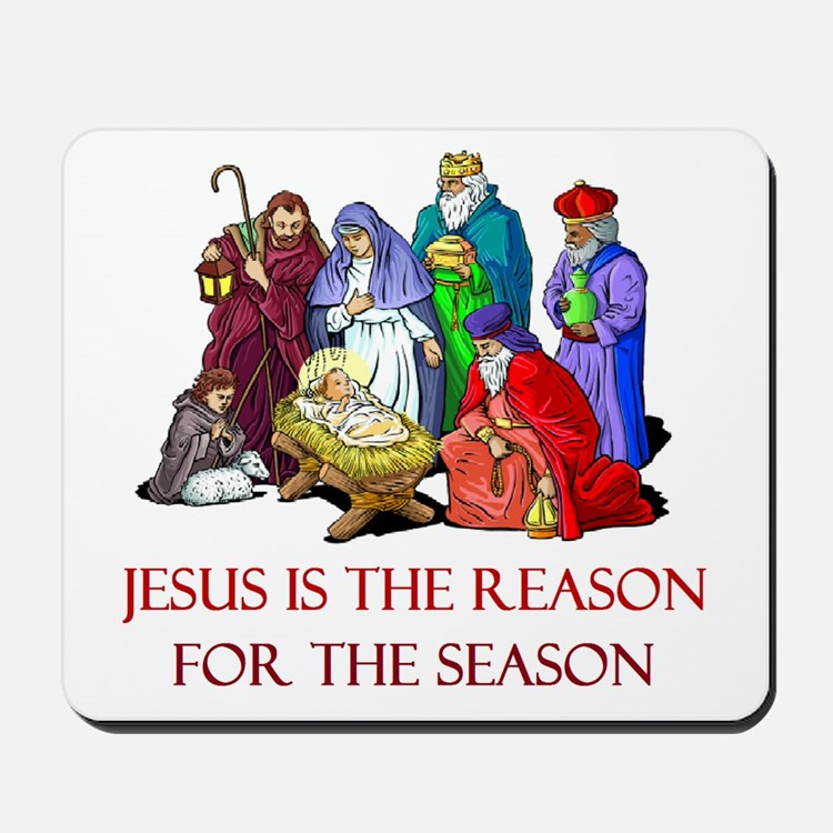 Christmas Jesus is the reason for the season Mouse
