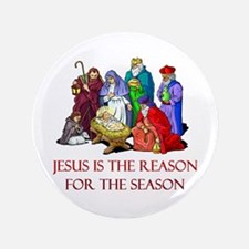 Christmas Jesus is the reason for the season 3.5""