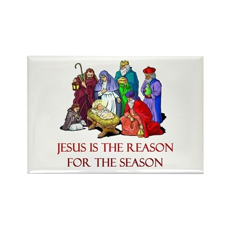Christmas Jesus is the reason for the season Recta