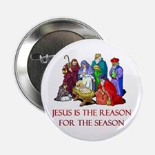 Christmas Jesus is the reason for the season 2.25""