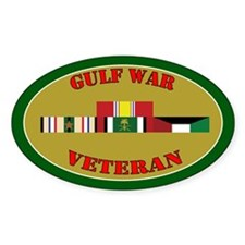 Gulf War 1 Campaign Star Decal