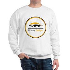 Honey Badger & Moustache Cloc Sweatshirt