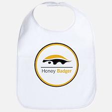 Honey Badger & Moustache Cloc Bib