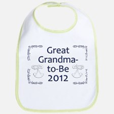 Great Grandma-to-Be 2012 Bib