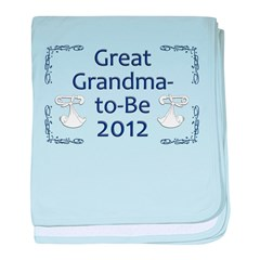 Great Grandma-to-Be 2012 baby blanket