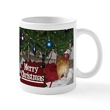 Funny Christmas Corgi Mug