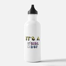 Cute Funny baby on board Water Bottle