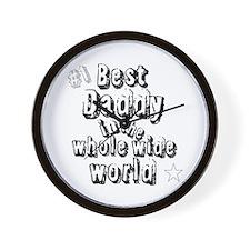 Best Daddy Wall Clock