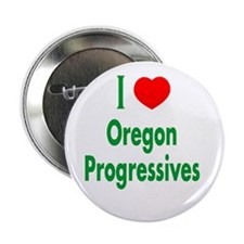 I Love Oregon Progressives Button
