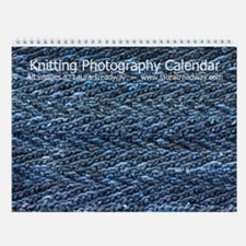 Knitting Photography Wall Calendar (v. 2)