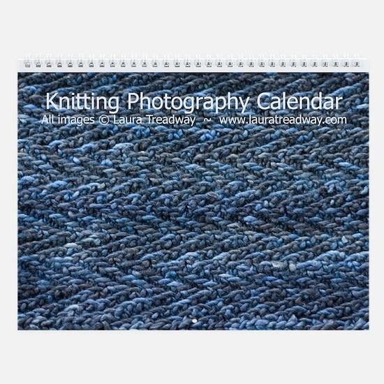 Knitting Photography Wall Calendar (v. 2)