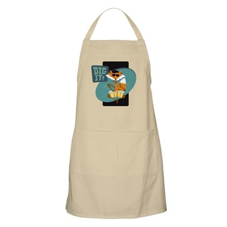 Beatnik Fox Apron