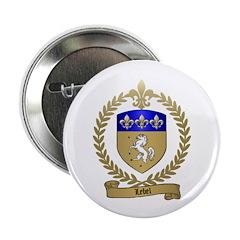 LEBEL Family Crest Button