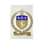 LEBEL Family Crest Rectangle Magnet (100 pack)
