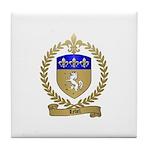 LEBEL Family Crest Tile Coaster