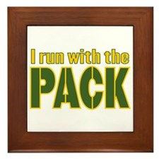 I run with the Pack Framed Tile