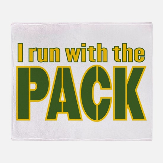 I run with the Pack Throw Blanket