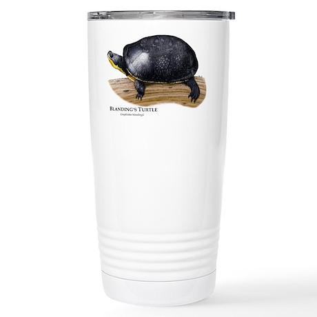 Blanding's Turtle Stainless Steel Travel Mug