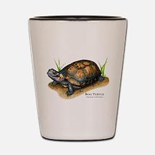 Bog Turtle Shot Glass