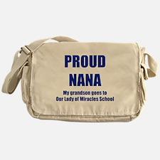Nana 1 Grandson Messenger Bag