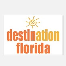 Destination Florida Postcards (Package of 8)