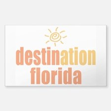 Destination Florida Decal