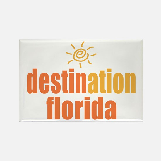 Destination Florida Rectangle Magnet