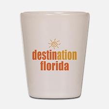 Destination Florida Shot Glass