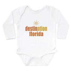 Destination Florida Long Sleeve Infant Bodysuit
