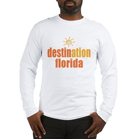Destination Florida Long Sleeve T-Shirt