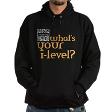 Custom QR What's your i-lvl? Hoodie