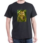 Palm Tree Owlet Dark T-Shirt