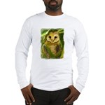 Palm Tree Owlet Long Sleeve T-Shirt