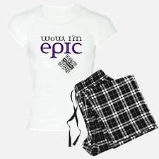 Custom QR WoW, I'm Epic Pajamas