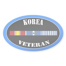 Korean War 3 Campaign Stars Decal